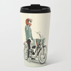 The Woman Rider Travel Mug