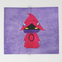 A Boy - Orko Throw Blanket