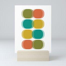 Mid Century Abstract Mini Art Print