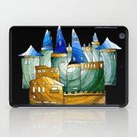castle iPad Cases featuring Castle by Irina  Mushkar'ova