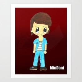 MiniDani Art Print