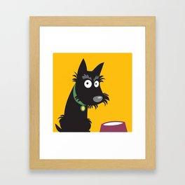 Scottie Framed Art Print