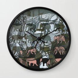 The White Elephant Wall Clock