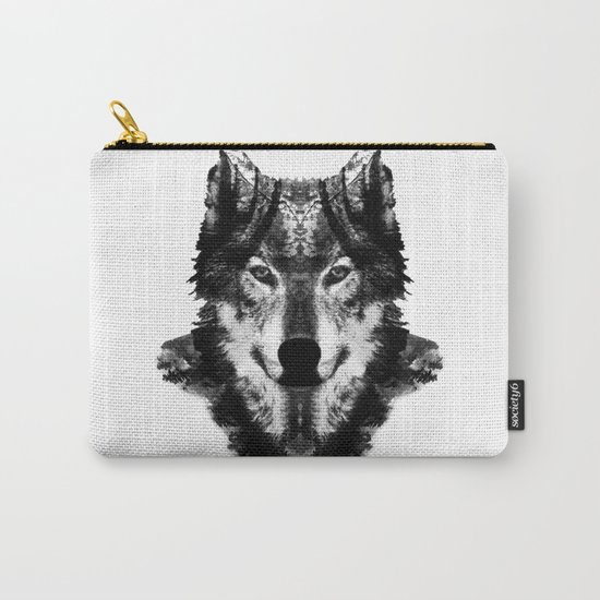 The Black Forest Wolf Carry-All Pouch