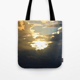 Sun Peek Tote Bag