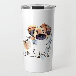 Princeton - Dog Watercolour Travel Mug