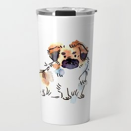 Princeton - Dog Watercolour Travel Mug