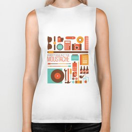 Everything But The Moustache Biker Tank