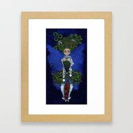 """""""Earth Girl"""" painting by Emma Gardner Framed Art Print"""