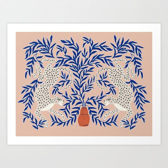 Leopard Vase by megangalante