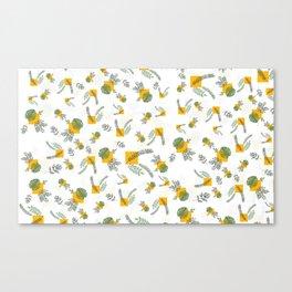 Wall Garden Canvas Print