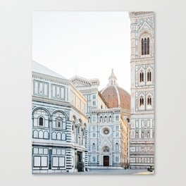 Il Duomo, Florence Italy Photography Canvas Print