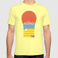 I've Got An Idea LARGE Lemon Mens Fitted Tee