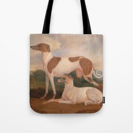 oil paintings of greyhounds Tote Bag