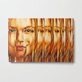 Golden Oranje Dutch Royalty Metal Print
