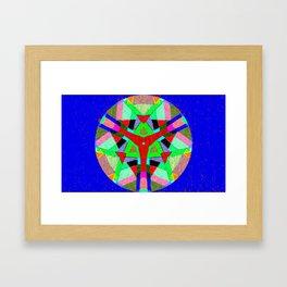 Abstract4 Kaleidoscope Framed Art Print