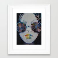 asia Framed Art Prints featuring Asia by Michael Creese
