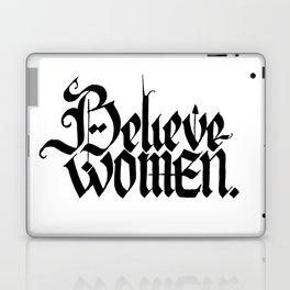 Believe Women Laptop & iPad Skin