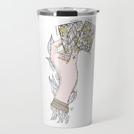 Apple lady Travel Mug