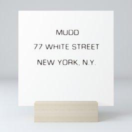 Mudd  Mini Art Print