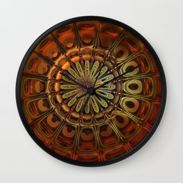 3d mandala steam punk stlye Wall Clock