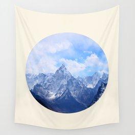 Himalayan Mountains Wall Tapestry