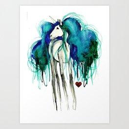 LINWË Art Print