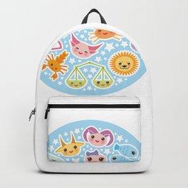 Funny Kawaii zodiac sign Backpack