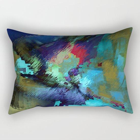 at that time Rectangular Pillow