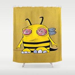 Disgruntled Shower Curtain