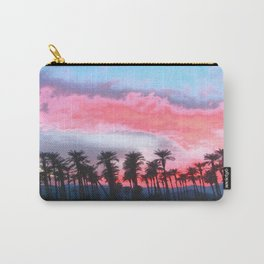 Coachella Sunset Carry-All Pouch