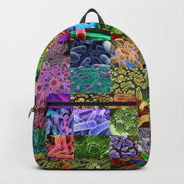Bacteria Montage Backpack