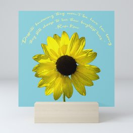 Brightest Lives Mini Art Print