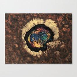 Kosmisch Canvas Print