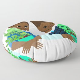 Barry and Gary Floor Pillow