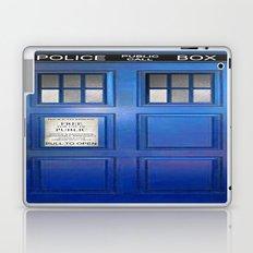 doctor who public box  Laptop & iPad Skin