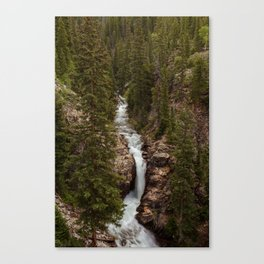 Rushing Judd Falls Canvas Print