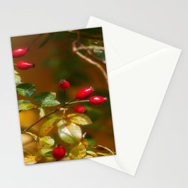 Autumn painting Stationery Cards