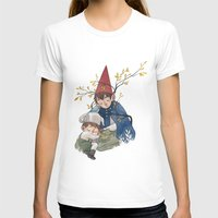 over the garden wall T-shirts featuring Over the garden wall by Rozenn