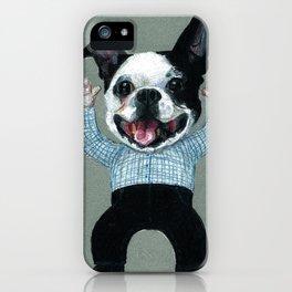 Bulldog Dancing iPhone Case