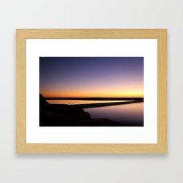 Light Reflecting Light Framed Art Print