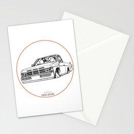 Crazy Car Art 0207 Stationery Cards