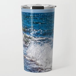 Bohol Sea Waves Travel Mug