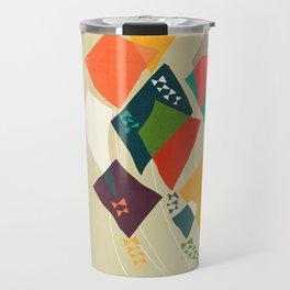 Whimsical kites Travel Mug