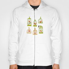 Bird Cages on Green Hoody