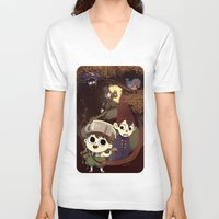 over the garden wall V-neck T-shirts featuring over the garden wall by Tae V