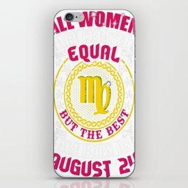 Best-Women-Born-On-August-24-Virgo---Sao-chép iPhone Skin