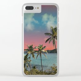 Screensaver Clear iPhone Case