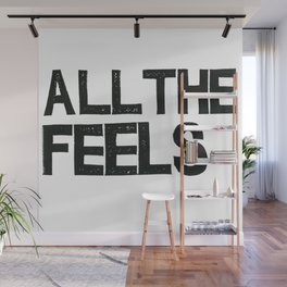 ALL THE FEELS Wall Mural