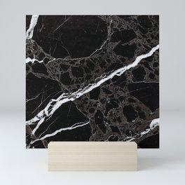 NETWORKED BLACK & WHITE Mini Art Print